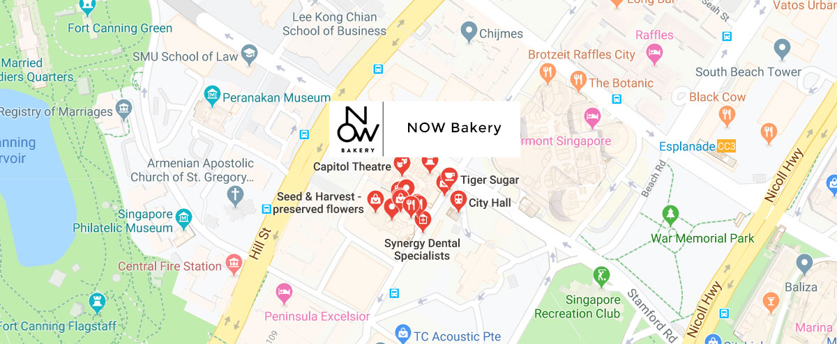 Now Bakery Google-Map